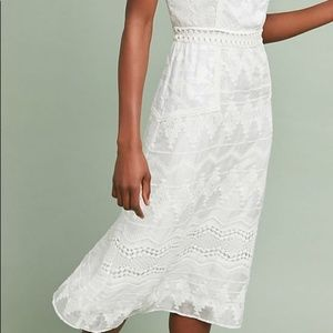 Anthropologie Dresses - Anthropologie Swan Lace Dress